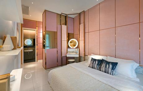 The-Valley-Type C Master Bedroom