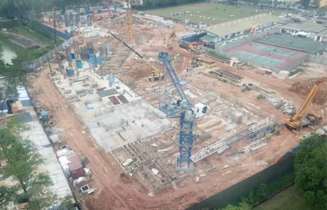 12th Mar 2020: Ground Floor slab work in progress